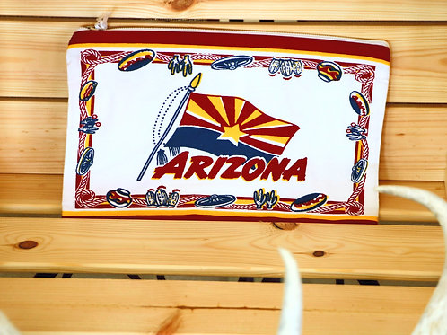 Retro Printed Arizona Pouch