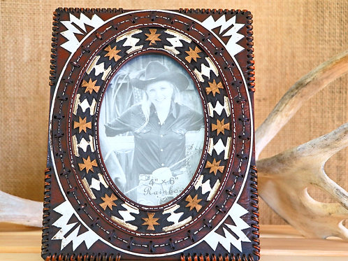 Brown Navajo 4 X 6 Picture Frame