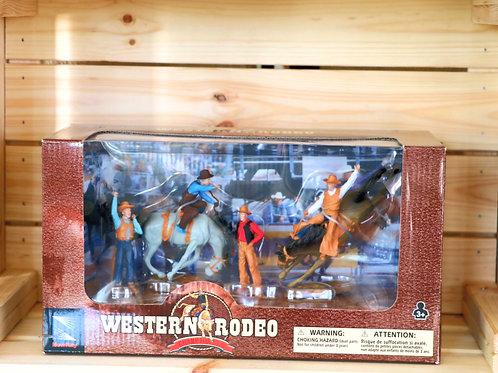 Bronc Rider Western Toy