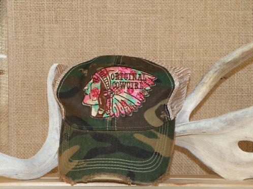 Camo Chief Baseball Hat