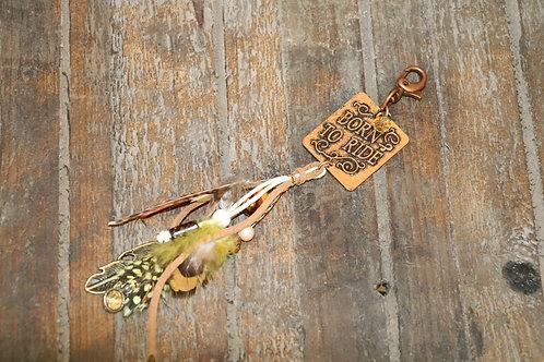 Born To Ride Keychain