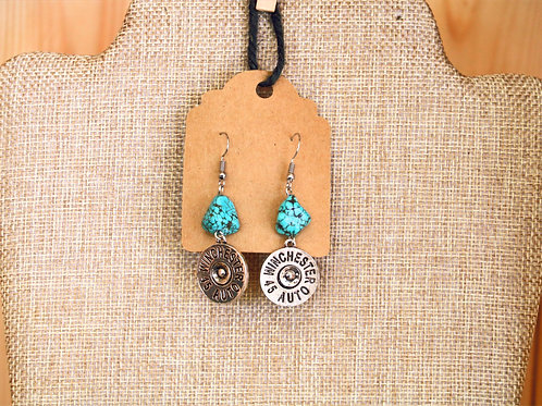 Winchester Turquoise Earrings