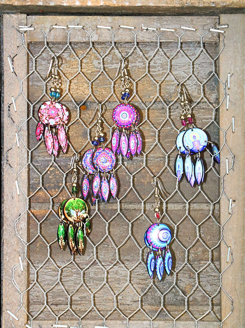 Rund Drop Earrings