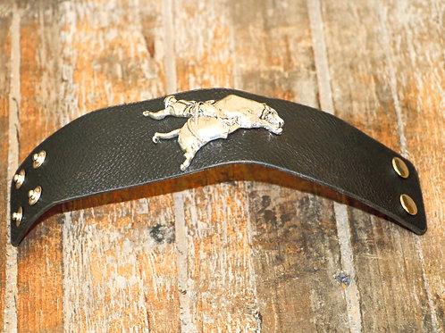 Bull Rider Leather Cuff