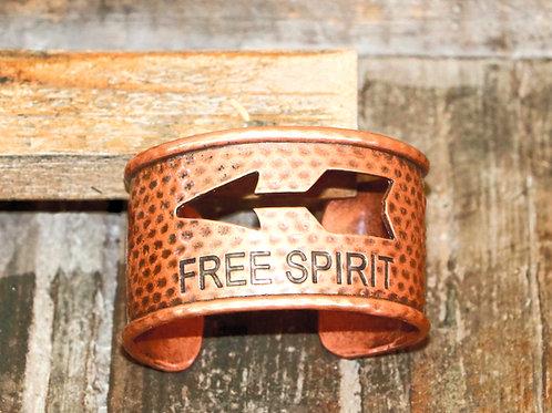 Free Spirit Bronze Bracelet