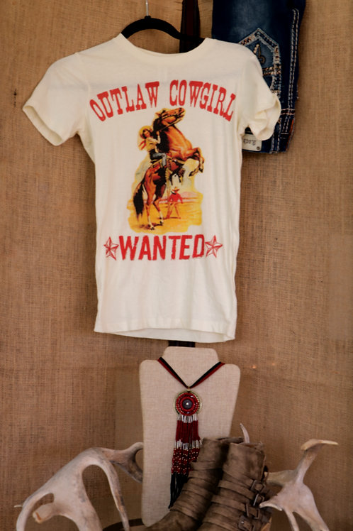 Outlaw Cowgirl T shirt