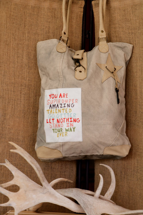 Positive Vibes Canvas Bag