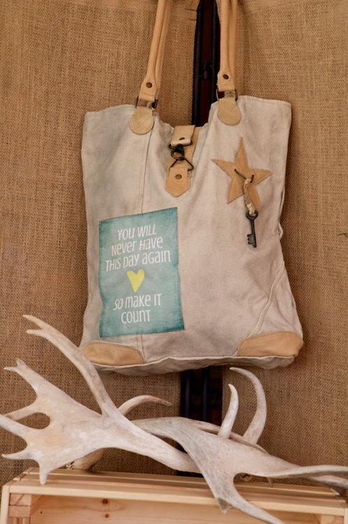 Make It Count Canvas Bag