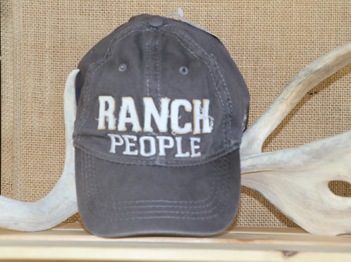 Grey Ranch People Baseball Hat