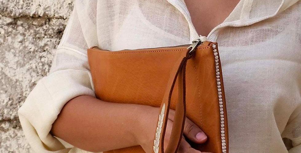 Sarma Handmade Leather Clutch