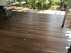 new deck blackbutt