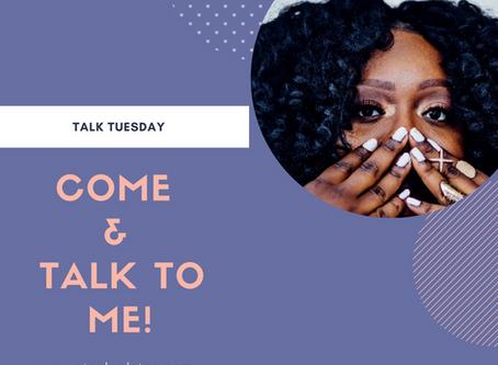 Talk Tuesday x September