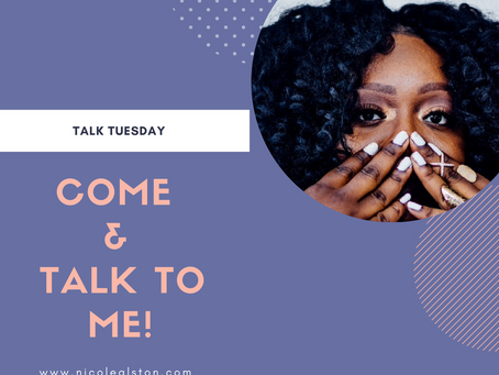 Talk Tuesday x September