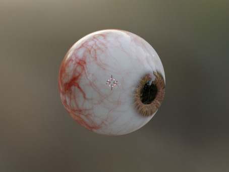 Eyeball Soup Part 3: 3D-Design in Blender