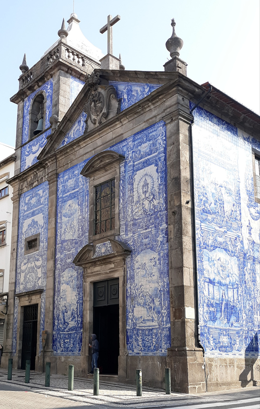 Chapel or Souls Blue and White Tile
