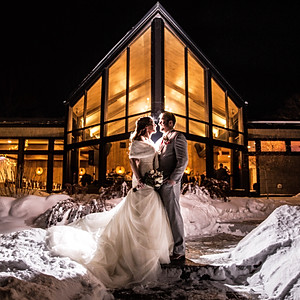 Stephen and Sara's Winter Wedding
