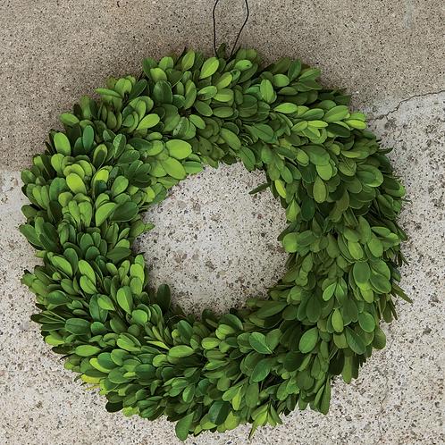 "Boxwood Wreath, 11"" Dia."