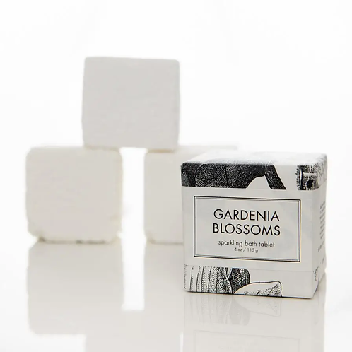 Gardenia & Blossoms Sparkling Bath Tablet