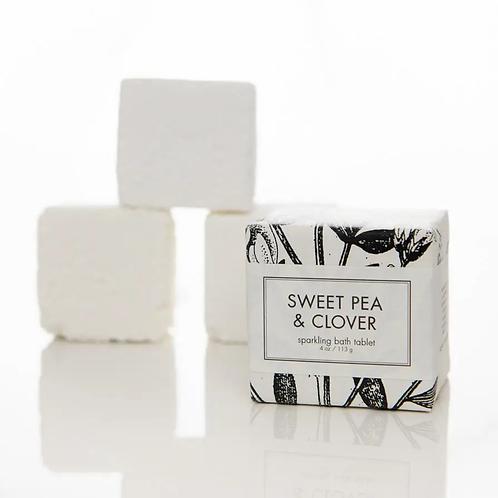 Sweet Pea & Clover Sparkling Bath Tablet