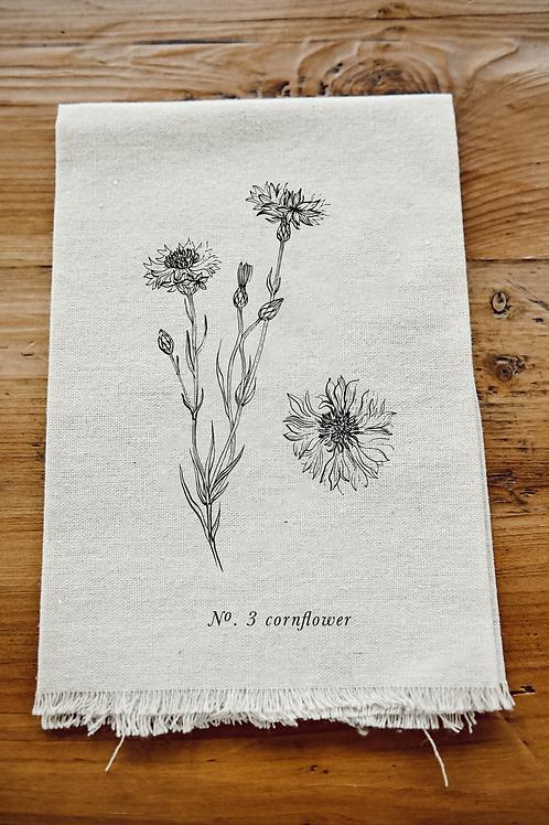 Botanical Napkin - Cornflower
