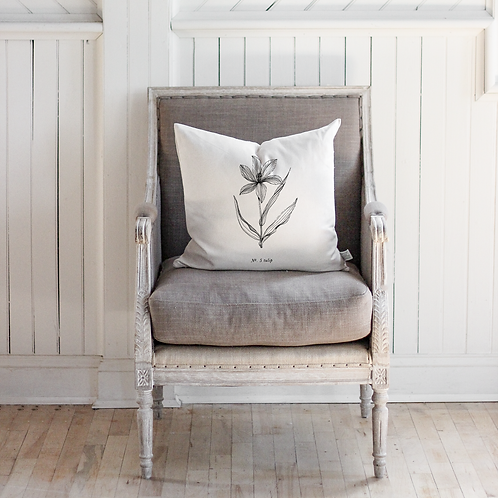 Botanical Pillow - Tulip - Cover Only