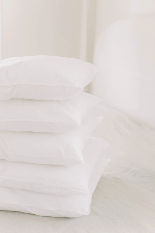"""Pillow Insert - Poly-Cotton Insert for 18"""" x 18"""" Pillow"""