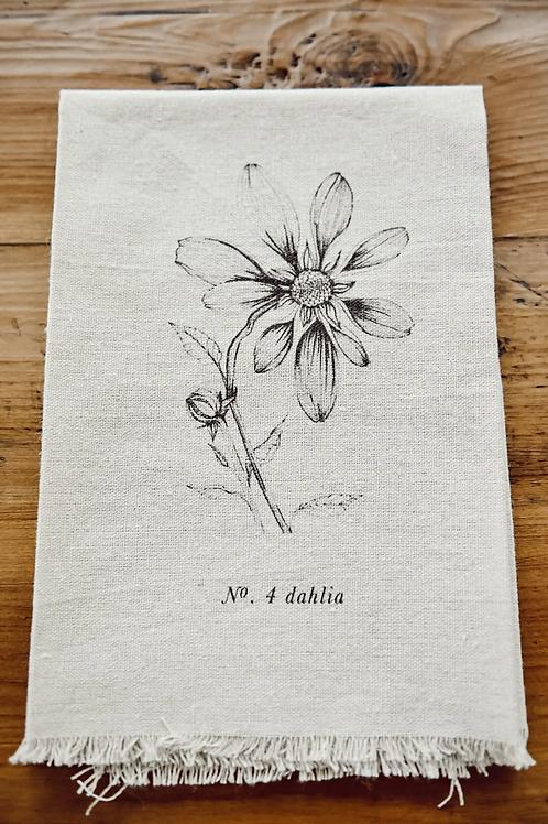 Botanical Napkin - Dahlia