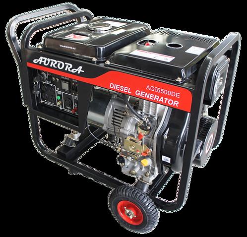Portable Diesel Generator | 6500 Watts