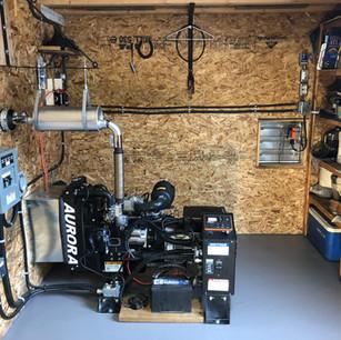 Indoor Generator Installation