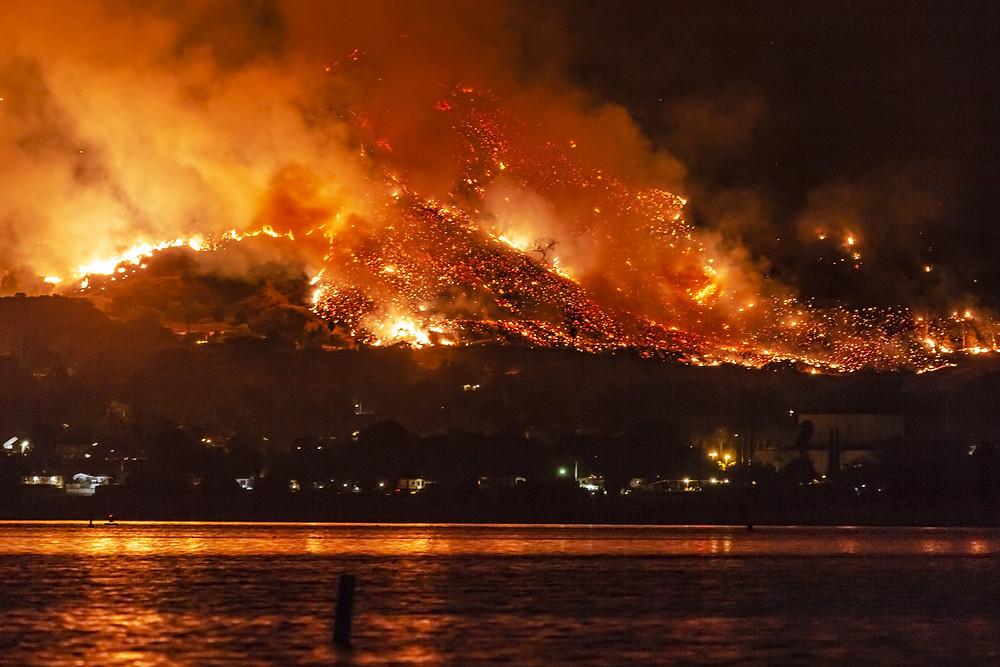 California Wildfire | Aurora Generators