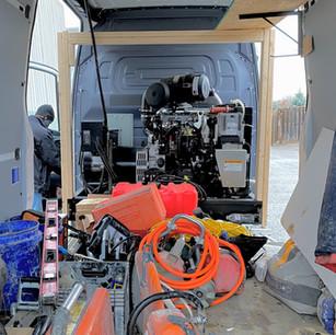 Customer Photo(s) - Spray Foam Vehicle
