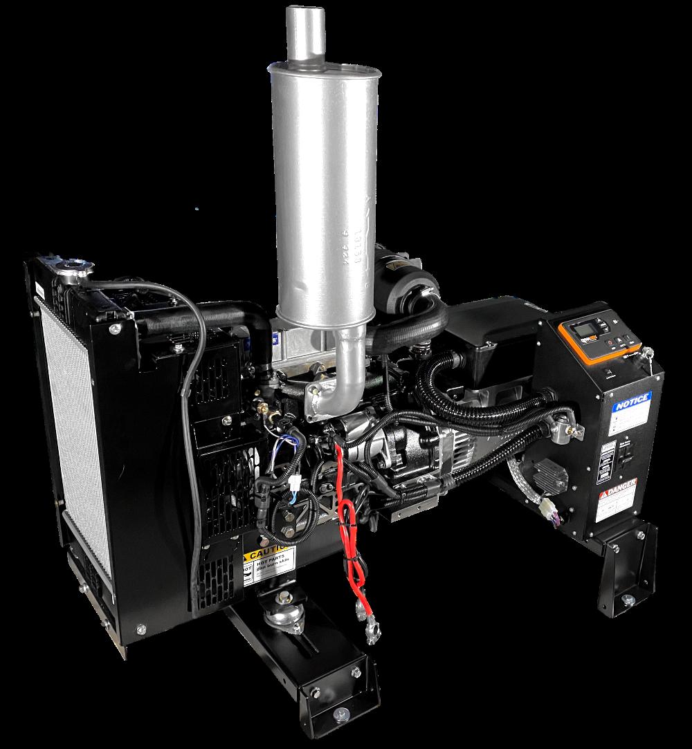 10 Kw Diesel Generator Bare Bones Aurora Generators
