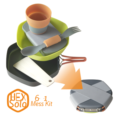 Hex Solo Mess Kit