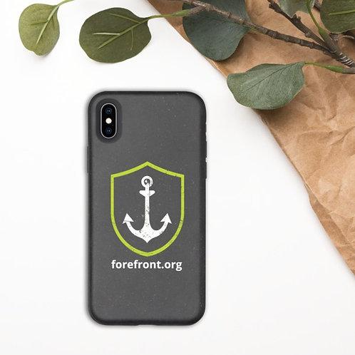 Anchored Logo   Eco iPhone Case