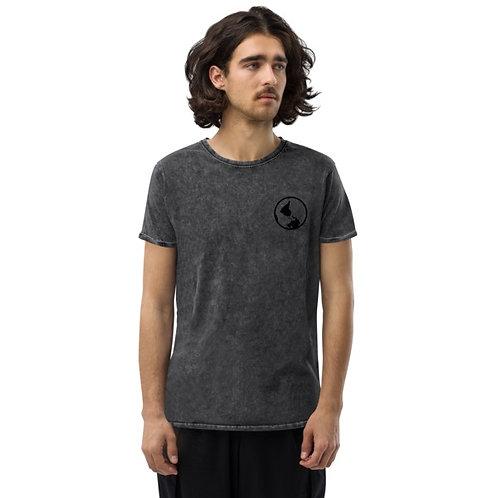 Men's Distressed Globe TShirt