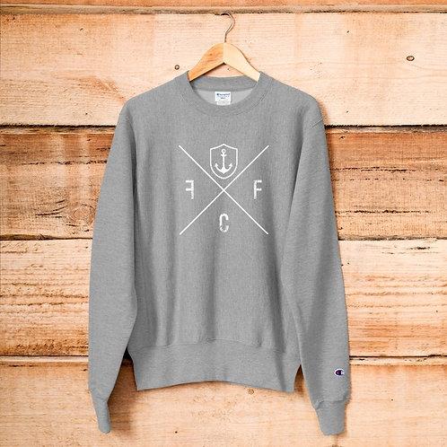 Cross/Anchor   Crewneck Sweatshirt