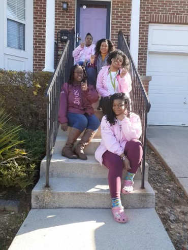 Some of our ladies of ZXT