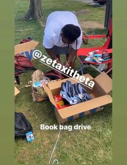 Bookbag Drive!