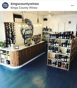 Kings County Wines shop interior