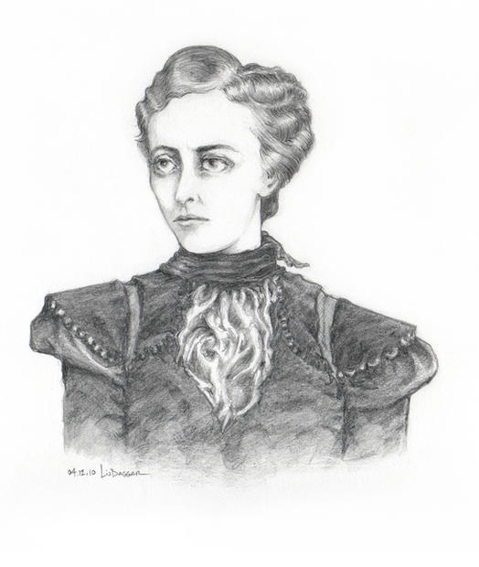 Woman in Sartorial Finery