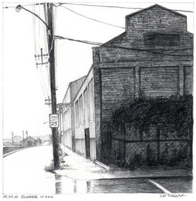 Bywater in Rain