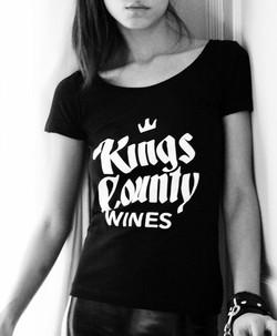 Kings County Wines tee shirt