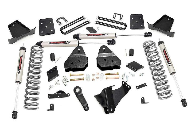 4.5in Ford Suspension Lift Kit w/V2 Shocks (15-16 F-250 4WD)