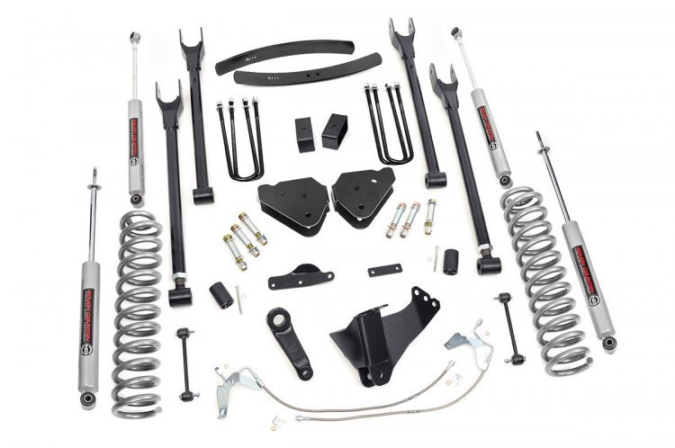 6in Ford 4-Link Suspension Lift Kit (Gas)