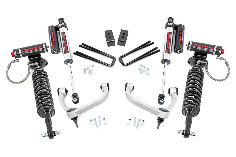 3in Ford Bolt-On Arm Lift Kit w/Vertex (2021 F-150 4WD)