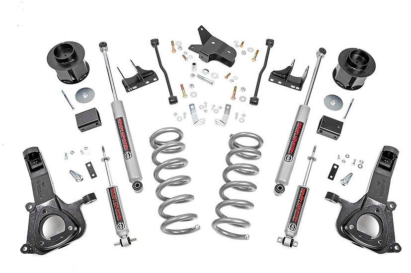 6in Ram Suspension Lift Kit (09-18 1500 2WD | V8 Models)