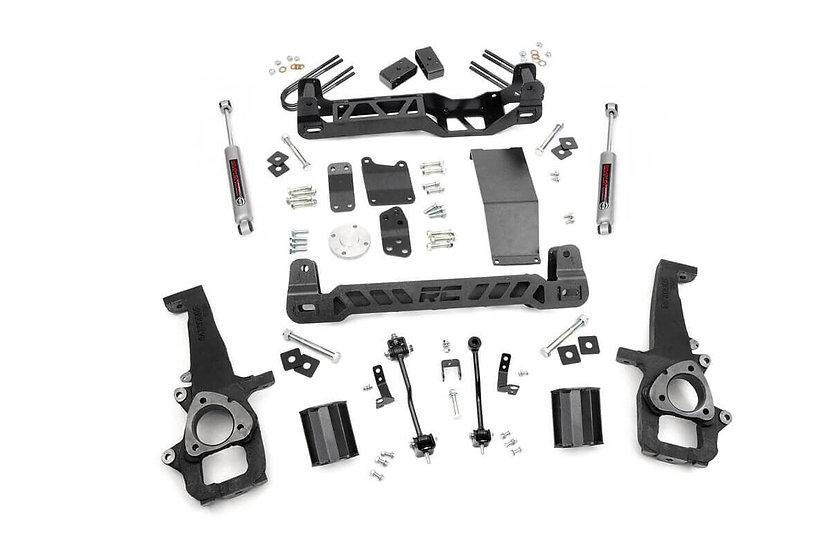 4in Dodge Suspension Lift Kit (06-08 Ram 1500 4WD)