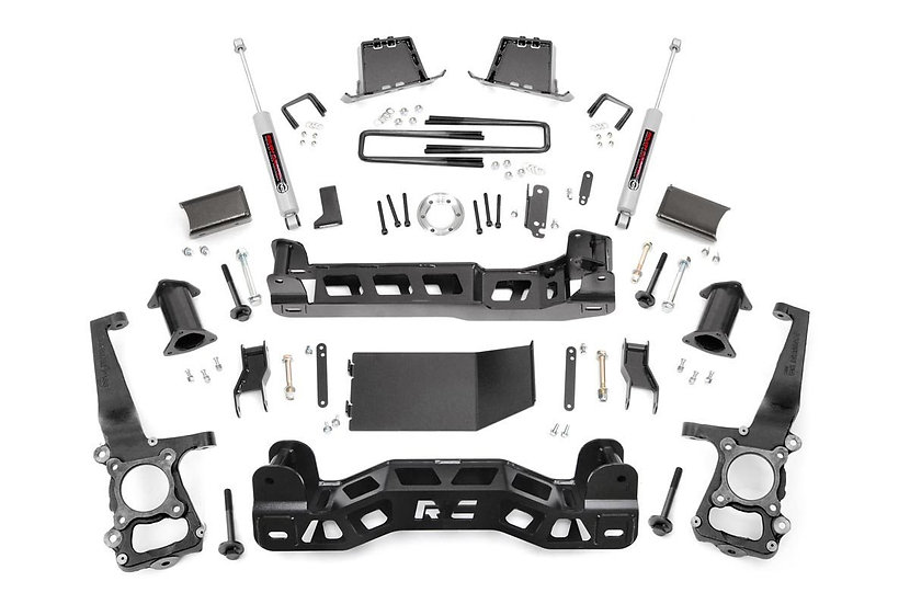 6in Ford Suspension Lift Kit | Strut Spacers (11-14 F-150 4WD)