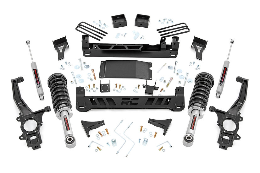 6in Nissan Suspension Lift Kit | Lifted Struts  (05-20 Frontier)