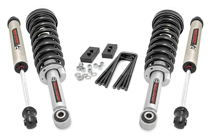 2in Ford Leveling Lift Kit | N3 Struts and V2 Shocks  (14-20 F-150)